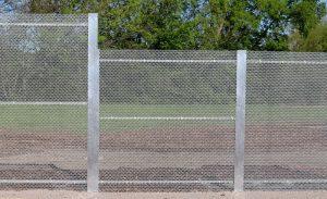 aluminum fences, perimeter fencing, steel gate