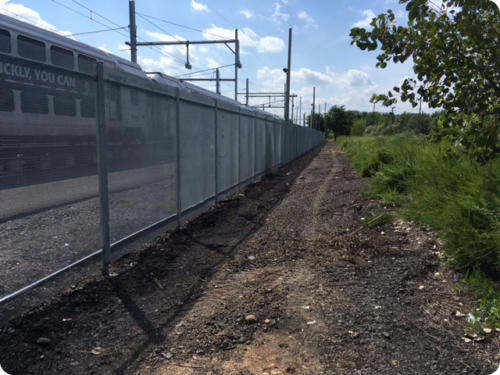 fences for commercial use, transportation fencing, airport fencing