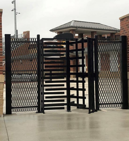 secure gates, swing gates, access control gates