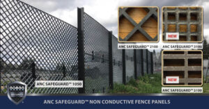 NEW ANC SAFEGUARD™ 3100 and 4200 Anti-Climb and Anti-Breach Square or Rectangular Meshes