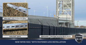 NEW Infini-Rail® with Fastener-Less Installation